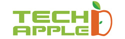TECH APPLE logo