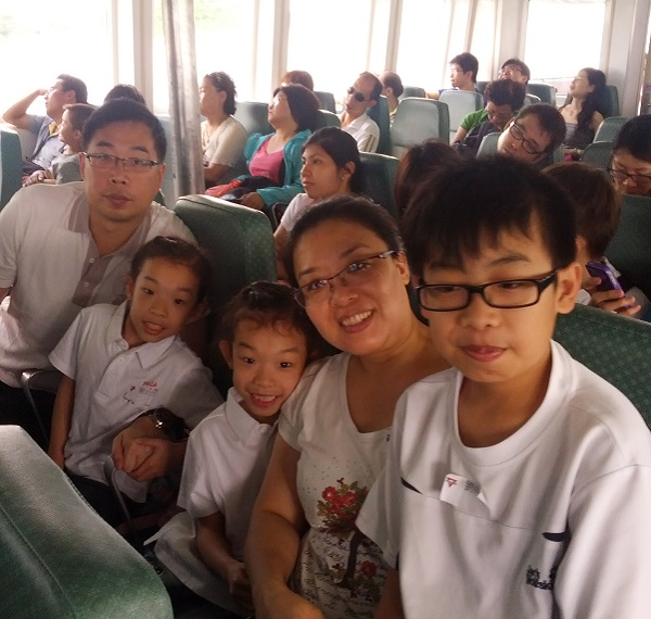 Member - Mrs. Lau and family
