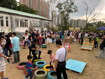 Full house for the Wu Kwai Sha Youth Village open day