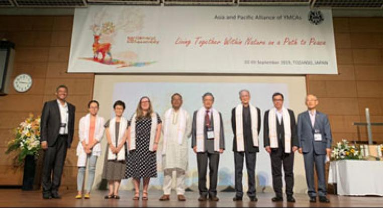 本會董事潘展聰先生獲選為亞洲及太平洋基督教青年會協會副會長