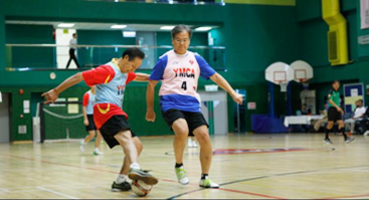 YMCA首屆健步足球先進盃